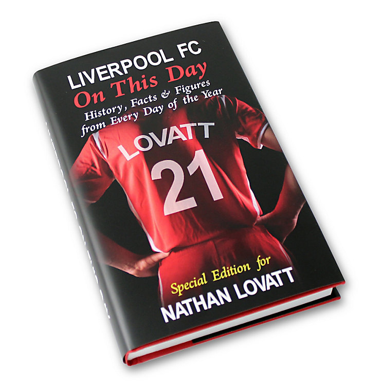 Personalised Liverpool On This Day Book - Product number 1440098