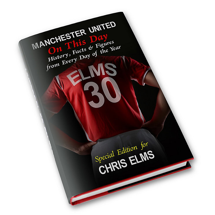 Personalised Manchester United On This Day Book - Product number 1440144