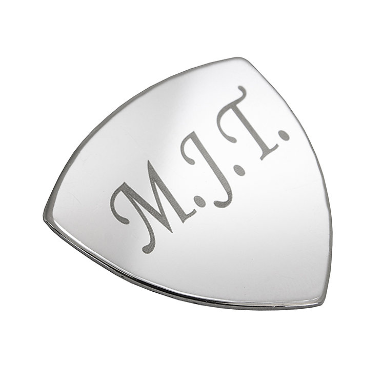Engraved Silver Plated Plectrum - Product number 1440292
