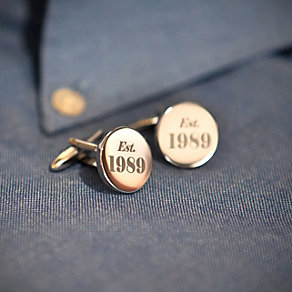 Engraved Established Cufflinks - Product number 1440411
