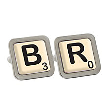 Personalised Initial/Age cufflinks - Product number 1440497
