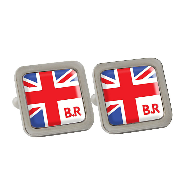Personalised Union Jack Cufflinks - Product number 1440578