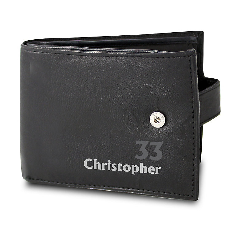 Personalised Birthday Age Wallet - Product number 1440632