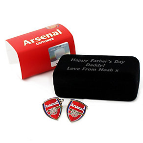 Personalised Arsenal Cufflinks - Product number 1440764