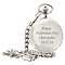 Engraved Pocket Fob Watch - Product number 1440802