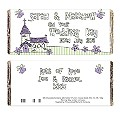 Personalised Wedding Church Chocolate Bar - Product number 1441132