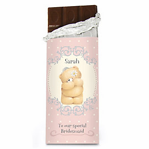 Personalised Forever Friends Bridesmaid Chocolate - Product number 1441167