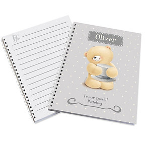 Personalised Forever Friends Pageboy Notebook - Product number 1441248