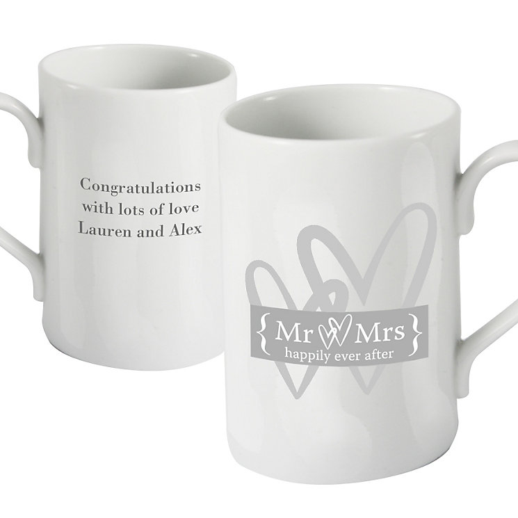 Personalised Silver Heart Mug - Product number 1441418