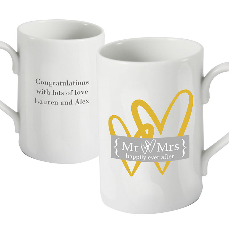 Personalised Golden Heart Mug - Product number 1441426