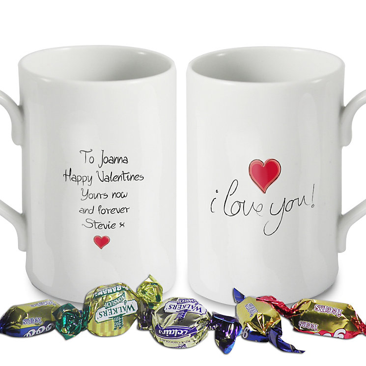 Personalised I love you Mug - Product number 1441450