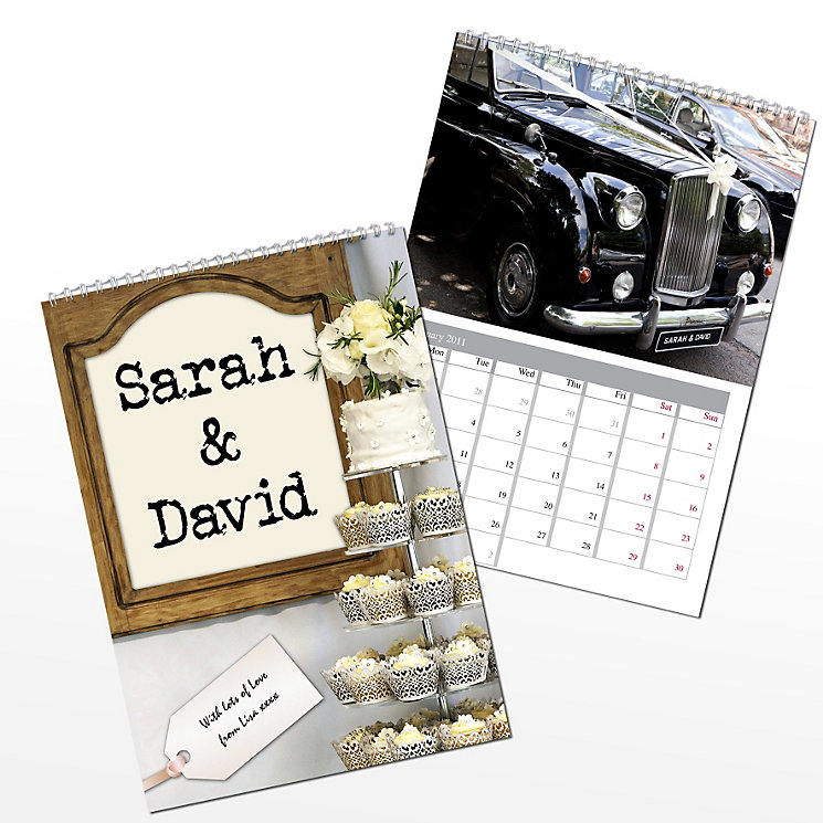 Personalised Couple Calendar - Product number 1442120