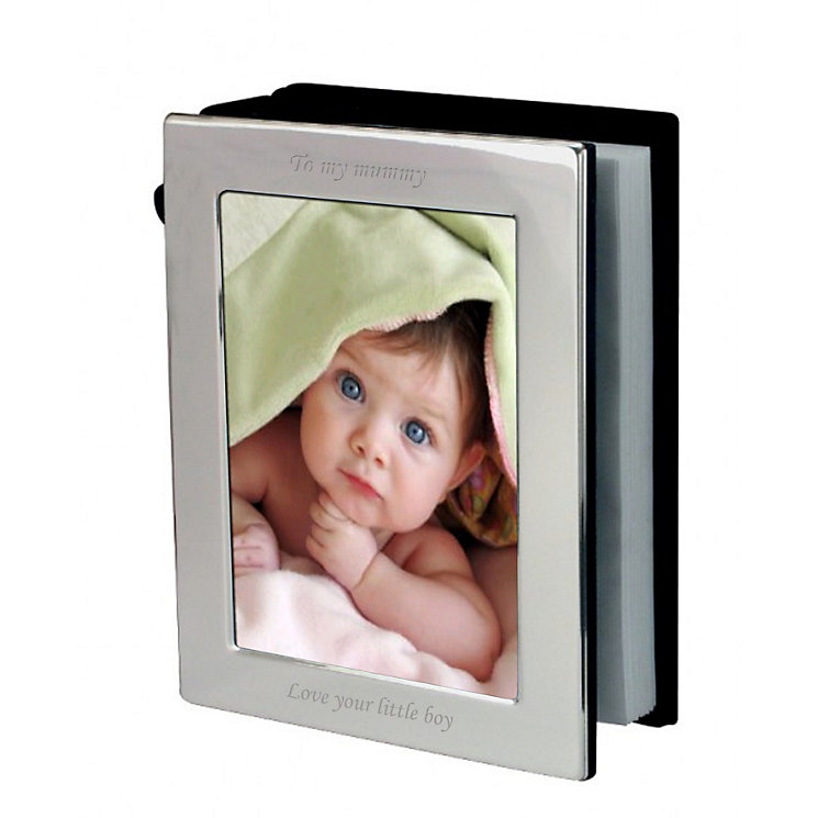 Engraved 6x4 Photograph Frame Album - Product number 1442740