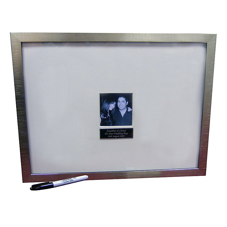 Engraved  Message Frame And Pen - Product number 1443682