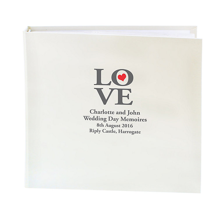 Personalised Love Photograph Album - Product number 1443704