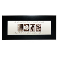 Personalised Affection Art Love Frame - Product number 1443909