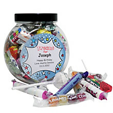 Personalised Comic Book Sweet Jar - Product number 1444158