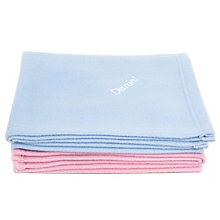 Personalised Blue Baby Blanket Fleece - Product number 1444336