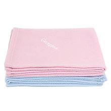 Personalised Pink Baby Blanket Fleece - Product number 1444344