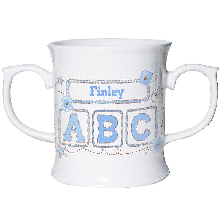 Personalised Blue ABC Loving Mug - Product number 1444379