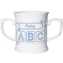 Personalised Blue ABC Loving Mug - Product number 1444379