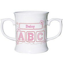 Personalised Pink ABC Loving Mug - Product number 1444387
