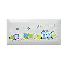 Personalised Patchwork Train Door Tile - Product number 1444506