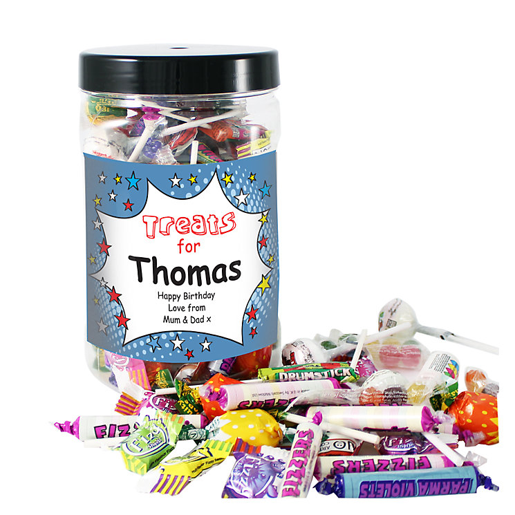 Personalised Comic Book Large Sweet Jar - Product number 1444662