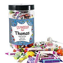 Personalised Comic Book Large Sweet Jar - Product number 1444662