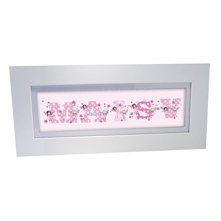 Personalised Fairy Letter Name Frame - Product number 1445235