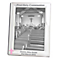 Personalised Pink Cross Silver 5x7 Frame - Product number 1445316