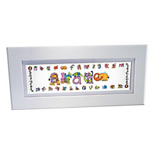 Personalised Bang On The Door Animal Name Frame - Product number 1445480