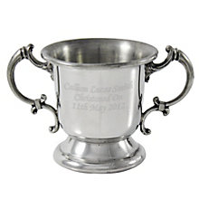 Engraved Pewter Baby Loving Cup - Product number 1445782
