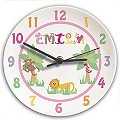 Personalised Animal Alphabet Girls Clock - Product number 1445944