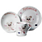 Personalised Cotton Zoo Tweed The Bear Pink Breakfast Set - Product number 1445987