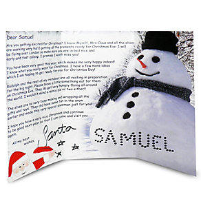 Personalised Letter From Santa - Product number 1446126