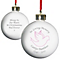 Personalised In Loving Memory Pink Bauble - Product number 1446509