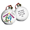 Personalised Nativity Silent Night Bauble - Product number 1446649