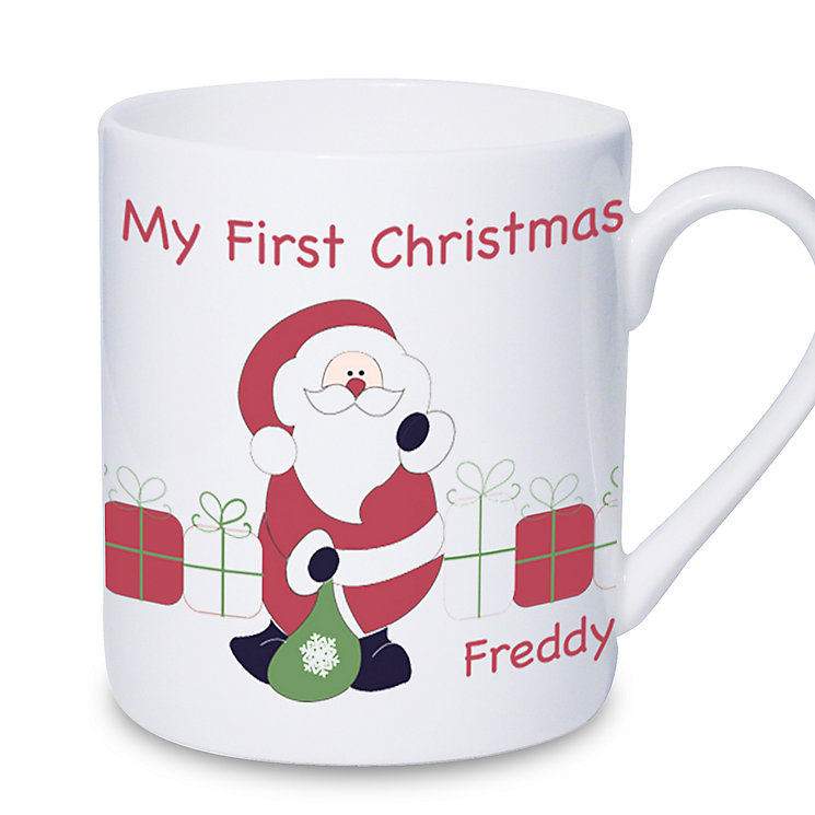 Personalised Santa With Presents Mug - Product number 1446819
