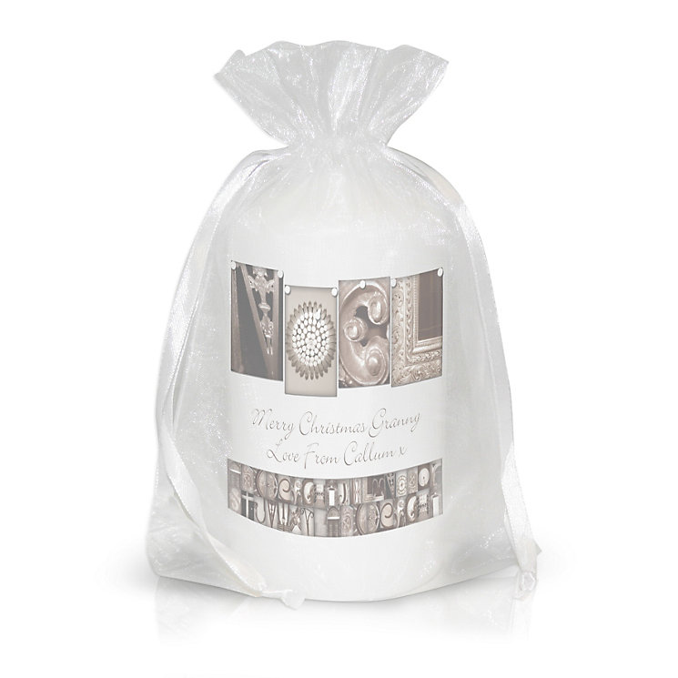 Personalised Affection Art Noel Candle - Product number 1446908