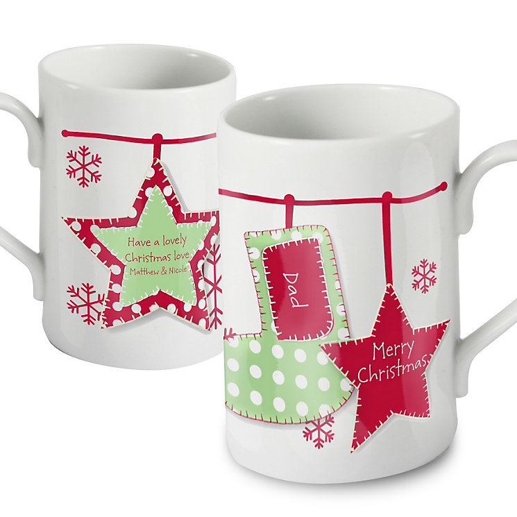 Personalised Christmas Stocking Mug - Product number 1446932