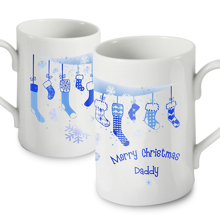 Personalised Christmas Stocking Mug - Product number 1446940