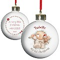 Personalised Forever Friends 1st Christmas Bauble - Product number 1447092