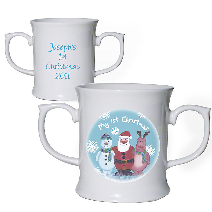 Personalised Snow Scene Loving Mug - Product number 1447165