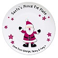 Personalised Spotty Santa Mince Pie Plate - Product number 1447262