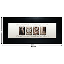 Personalised Affection Art Noel Small Frame - Product number 1447408