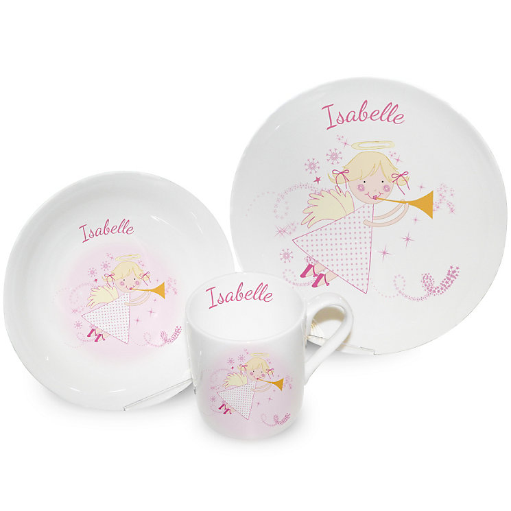 Personalised Angel Breakfast Set - Product number 1447424