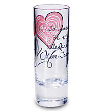 Personalised Love And Kisses Shot Glass - Product number 1447467
