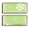 Personalised Love Grows Chocolate Bar - Green - Product number 1447505