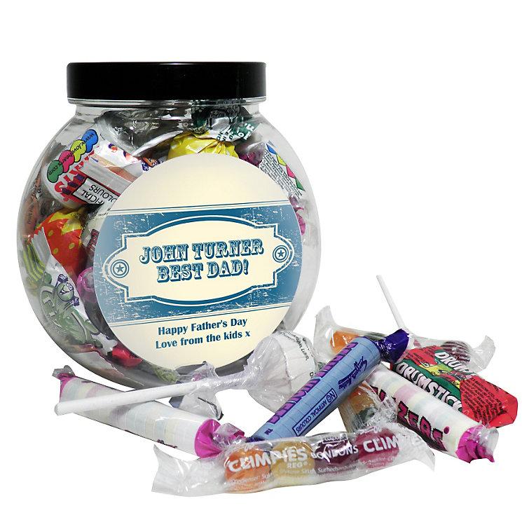 Personalised Vintage Blue Sweet Jar - Product number 1447742